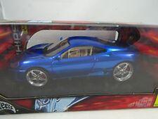 1:18 Hot Wheels Whips #C3865 Ferrari 360 Modena Blu Metallizzato - Rarità §
