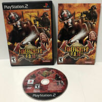 Firefighter FD 18 ! Playstation 2 PS2 Complete Game ! CIB w/ Manual RARE ! 🔥