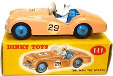 DINKY NO. 111 TRIUMPH TR2 ROADSTER - COMPETITION MODEL - MINT BOXED & RARE