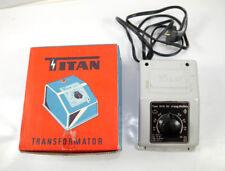 TITAN Transformator Trafo Type 806 GI für rapido Wechselstrom mit OVP (K79)