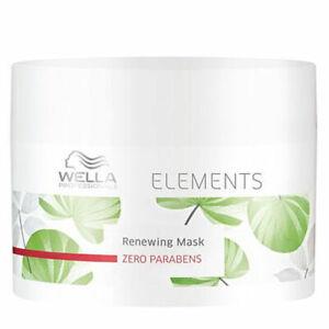 Wella Elements Mask Regenerating for Hair 150 ML New