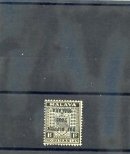 MALAYA, JAPAN OCC Sc N17a(SG J228a)**F-VF NH 1942 1c BLACK, INVERTED O'PT $36