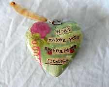 Kelly Rae Roberts What Makes Your Heart Flutter? Love Ornament