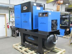 Air-Max  30hp. (NEW) Industrial Rotary Screw Compressor W/dryer/filters/240 tank
