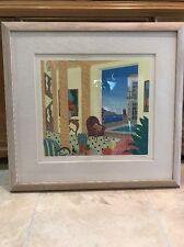 Thomas McKnight Amalfi  Villa Southern Italy 🇮🇹  Suite Framed Ltd Signed $1000