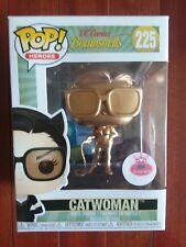 "FUNKO POP DC COMIC HEROES BOMBSHELLS # 225 ""CATWOMAN"" METALLIC GOLD POP"