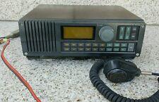Vintage iCom IC-M500 VHF MARINE TRANSCEIVER Radio & EM-48 Dynamic Mic As Is