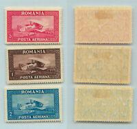 Romania 1928 SC C4-C6 mint wmk 95 horizontal. f9807