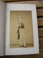 MEMOIRES de RIGOLBOCHE 1860 portrait photo par Petit et Trinquart