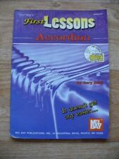 Gary Dahl - First Lessons Accordion (Mel Bay Sheet Music & CD 2002)
