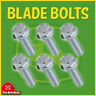 6PK John Deere 19M7786 Blade Bolts L100 L110 L118 L120 L130 Sabre 1642 1742 2048