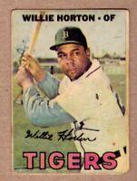 1967 Topps Venezuelan Sport Grafico #195 Willie Horton Detroit Tigers no creases