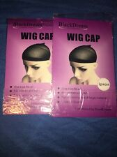 4 BlackDream Wig Caps