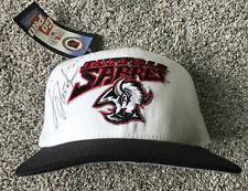Vintage 90s Men's Buffalo Sabres GOAT Head New Era NHL Snapback Hat Cap