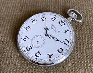 Chs.Tissot & fils Depuis 1853 - Pocket Watch Unworn 57 MM Unitas 6497 ca.1985