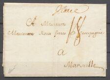 1769 Lettre Italia, manuscrit, de Bologne, très rare, Superbe X4889