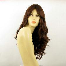 length wig for women curly dark brown copper ref MICKI 31 PERUK