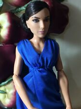 Barbie Wonder Woman Diana In Blue Gown Articulated Action Figure Fashion Doll