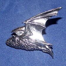Peltro Di Qualità Gotico Con Le Ali Pipestrelle Pipistrello Spilla