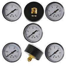 Manometer Bar waagerecht Vakuummeter Druckluft Verbindung Übergang Fittings AG
