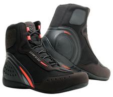 Dainese Motorshoe D1 Air Shoes Black Red Size 43