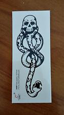 Harry HP Voldemort Death Eater Dark Mark Waterproof Body Graphic Tattoo 5PCS