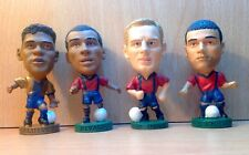 CORINTHIAN JOB LOT OF 4 BARCELONA PROSTAR FOOTBALL FIGURES LOT 1