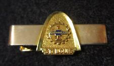 Chevrolet St Louis Plant Tie Bar Employee Management Award 1/20 12K Gold Filled