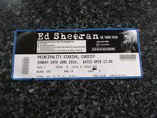 ED SHEERAN 1 used tickets ,24th JUNE 2018,PRINCIPALITY STADIUM,CARDIFF,(11)