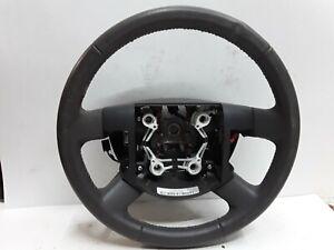 08 09 Ford Taurus Taurus X Mercury Sable gray leather steering wheel OEM