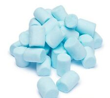 BLUE RASPBERRY MINI MALLOWS MARSHMALLOWS 750G RETRO SWEETS PARTY BAG BABY SHOWER