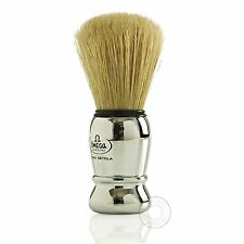 Omega 10029 Pure Bristle Chrome Handle Shaving Brush