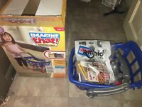 """NEW 10pc IMAGINE THAT Child Shopping Cart Buggy 19"""" Pretend Play Kid Toy AMLOID"""