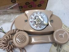 Western Electric 702B-60 LT. Beige Princess Telephone Phone In Original Box 1970