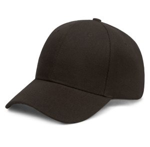 Men Women Solid Plain Baseball Cap Trucker  Army Blank Color Hat Ball Adjustable
