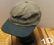 VERY NICE PRO GRASS BROWN/GREEN SNAPBACK HAT USA MADE IN VERY GOOD CONDITION