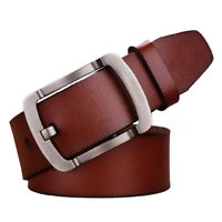 "Top quality Belts for Men 100% Genuine Leather Men's Belt Waist Size 30""-63"""