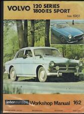 VOLVO P1800,P1800S,P1800E,P1800ES,120 SERIES WORKSHOP MANUAL 1961-1973