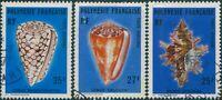 French Polynesia 1977 Sc#C138-C140,SG231-233 Sea Shells set FU