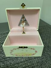 Vintage Childrens Music Jewelry Box Dancing Ballerina When You Wish Upon A Star