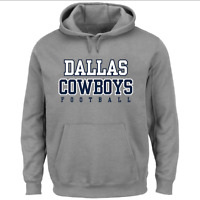 Dallas Cowboys NFL Team Pullover Hoodie - Heathered Gray Gift Christmas For Fan