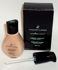 VINCENT LONGO Waterproof Dew Finish Radiant Glow Foundation SPF15 MEDIUM BEIGE 5