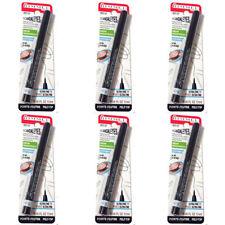 NEW Rimmel Scandaleyes Micro Eye Liner Black 0.04 Fluid Ounces (6 Pack)