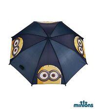 Disney Minions Regenschirm Kinder Schirm Sonnenschirm Blau Neu