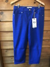 "NEW LONDON ""NOXLEY"" CROPPED JEAN - MARINE BLUE - SIZE 34 (16)"