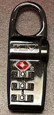 NEW TUMI GRAPHITE CHROME Combination TSA Lock