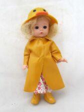 "5"" Madame Alexander Mini Doll McDonalds Toy Duck Raincoat Girl Figure Figurine"
