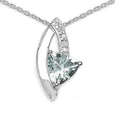 Collares y colgantes de joyería naturales plata diamante