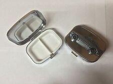 Ford Escort MK3 ref319 Pewter Effect Car on a silver metal pill box