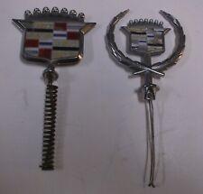 New ListingVintage As-Is Pair Oem Cadillac Hood Ornaments/Emblems